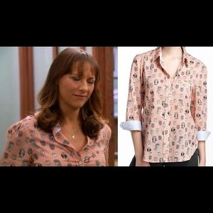 Anthro Owl Blouse - As Seen on Parks and Rec!